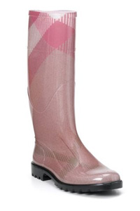 Burberry Large Check rain Boots
