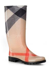 Burberry Mega Check rain Boots