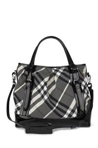 New Check Lowry Tote Bag