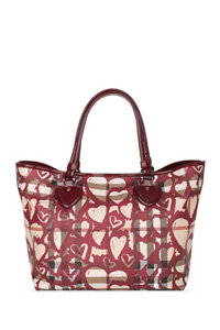 Nova Heart Painted Tote Bag