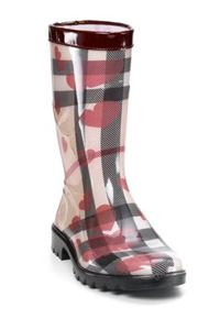 Burberry Painted Heart Rain Boots